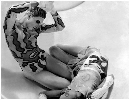 Dancers Serge Lifar and Mlle Spressiwtzewa during the golden age of the Ballet Russes in 1931 George Hoyningen-Huené