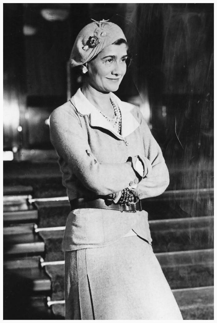 Coco Chanel 告訴你 女人最理想的衣櫥應該有6大元素: Gabrielle Chanel (1883 – 1971)