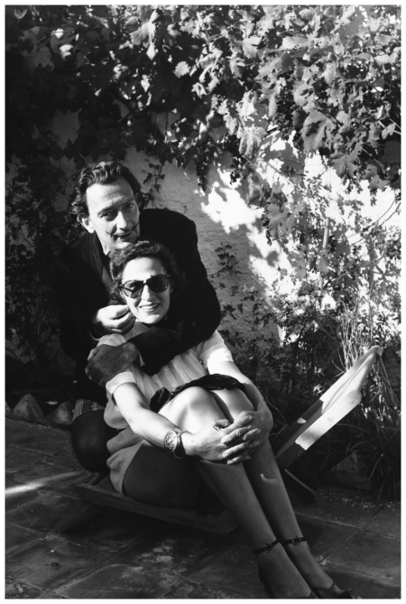 Gala and Salvador Dalí Cadaqués, Spain 1951 Hulton-Deutsch Collection:Corbis