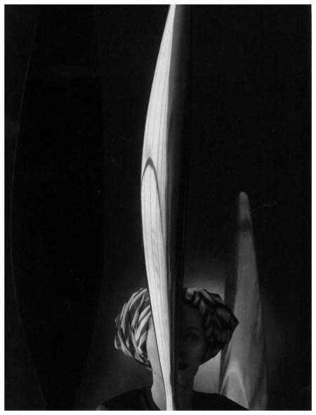 John Rawlings - Model with Constantin Brancusi's Bird in Space 1944