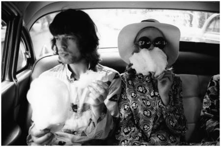 Jagger & Faithfull In Brazil