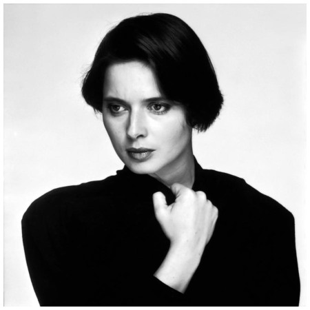 Model and actress Isabella Rossellini looking thoughtful in a publicity still for Taylor Hackford's 1984 thriller 'White Nights' Photo Terry O'Neill