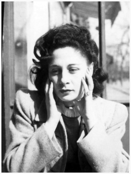 Portrait of Chloé-founder Gaby Aghion, around 1945