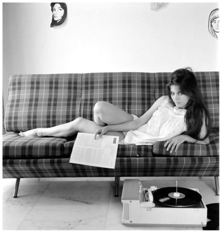 Records Lover Claudia Cardinale