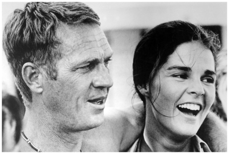 Steve McQueen and Ali MacGraw in The Getaway 1972 Bettmann:CORBIS
