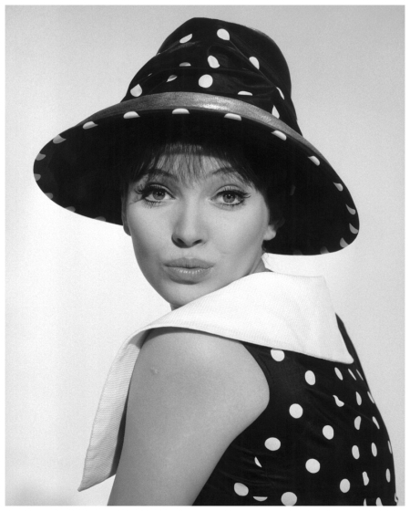 Anna Karina, Danish actress, director and screenwriter. It's no wonder she was director Jean-Luc Godard's muse. She was also one of the pioneers of the French New Wave