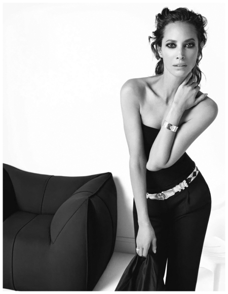 Christy Turlington Photographed by Inez van Lamsweerde & Vinoodh Matadin for Vogue Paris January 2013