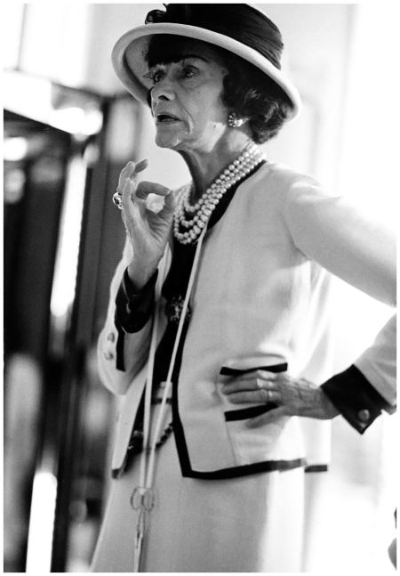 Coco Chanel – Chanel's dark, cropped hairstyle set the trend for shorter hair in the Twenties