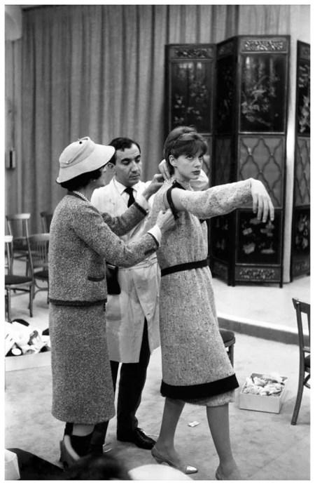 Coco Chanel, Paule Rizzo, Paris, Janvier 1959 Photo Willy Rizzo