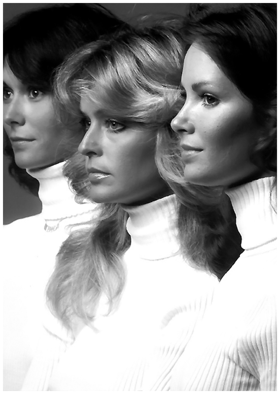 Farrah Fawcett, Kate Jackson and Jaclyn Smith of Charlie's Angels ...