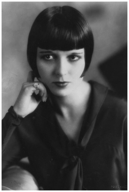 American star of the silent movie era, Louise Brooks. (Photo by Hulton Archive:Getty Images) 1925