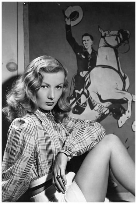 circa 1950 Actress Veronica Lake. (Photo by Hulton Archive:Getty Images)