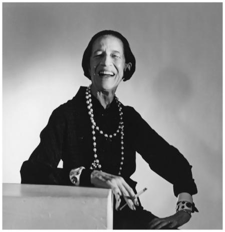 Diana Vreeland 1979, porträtiert von Horst P. Horst
