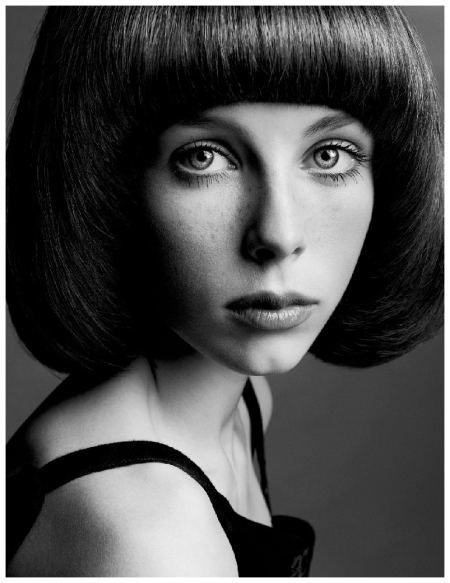 Edie Campbell LOVE Magazine #9 Spring:Summer 2013  Courreges | The Girls Sølve Sundsbø