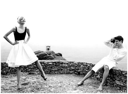 Gemma Ward and Josh Hartnett Vogue - 2005 Mario Testino