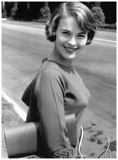 Jean Seberg, photo by Willy Rizzo, 1959