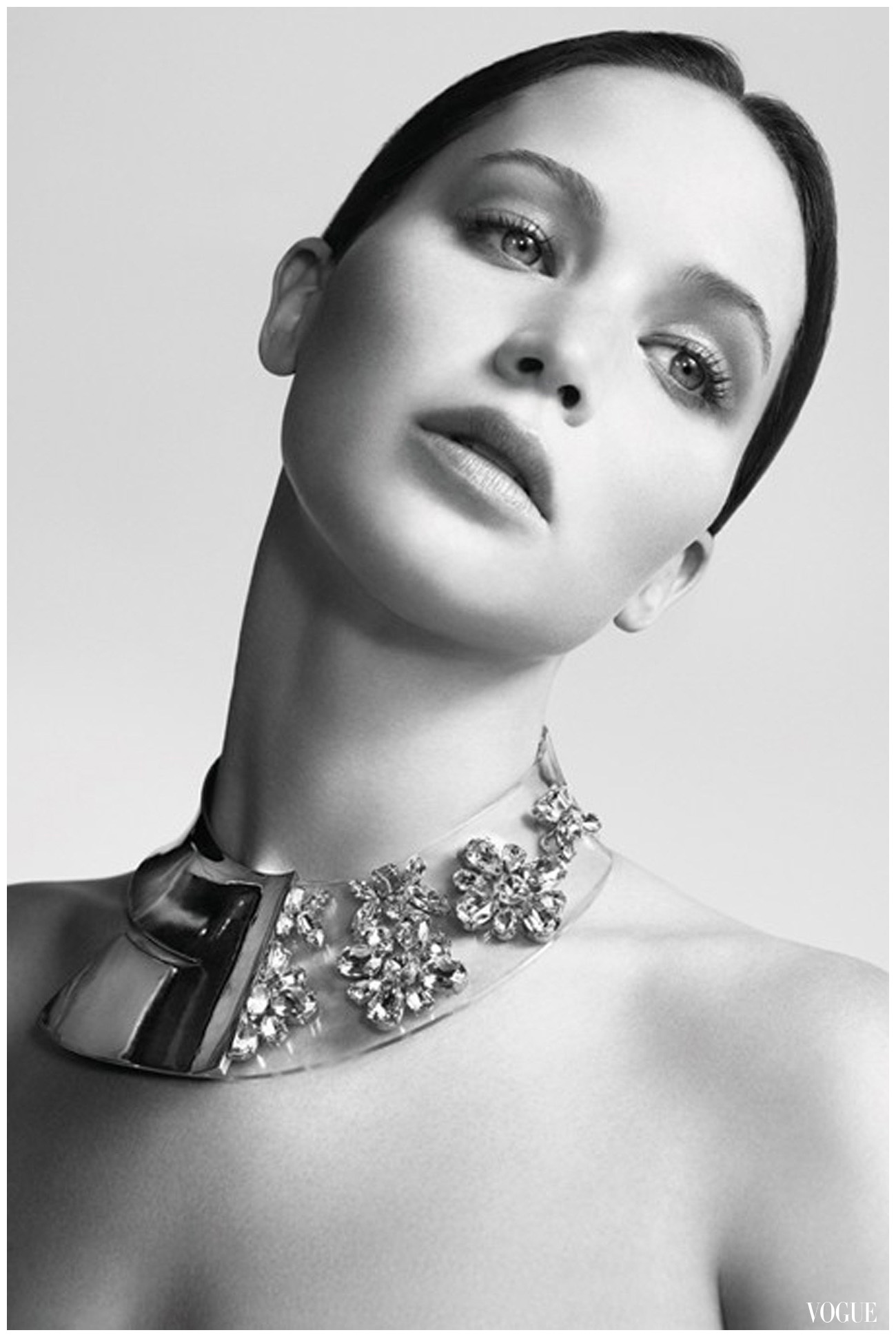 Jennifer Lawrence For Dior Spring Summer 2013 Photo Willy Vanderperre