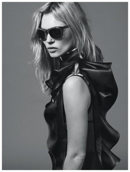 Kate Moss Shot by Mert Alas and Marcus Piggott