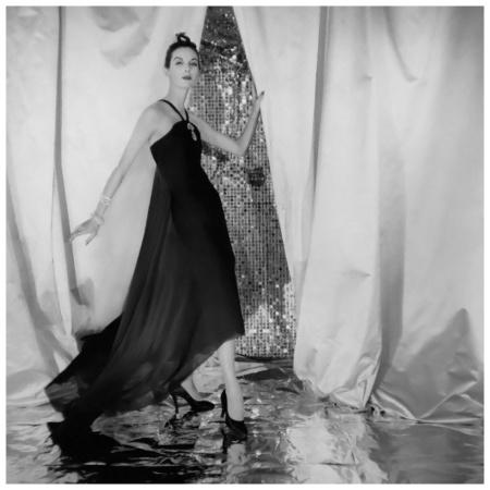 Chiffon Halter Dress by Dior