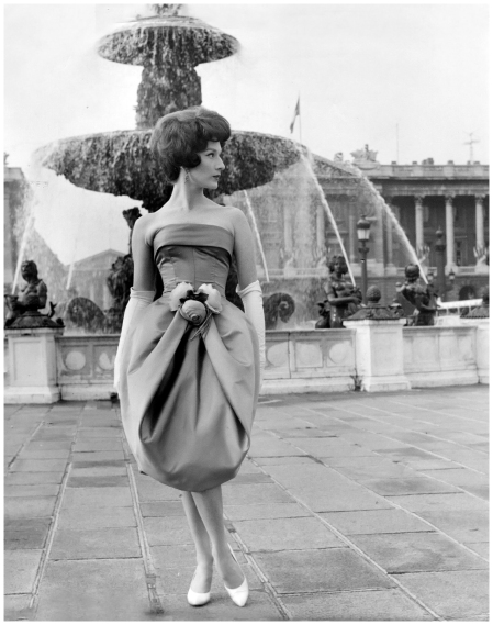 Paris fashions 1960's photo by Kenneth Heilbron