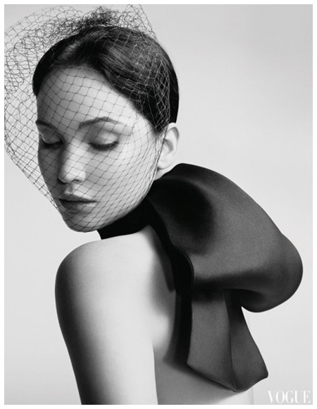Vogue cover girl Jennifer Lawrence stars in the Miss Dior handbag campaign, shot by Willy Vanderperre and styled by Olivier Rizzo