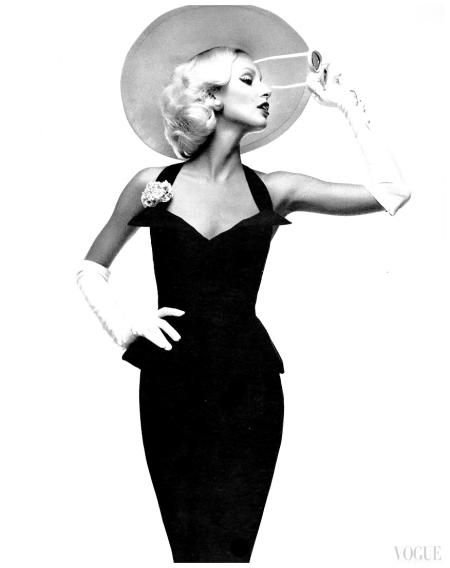 Vogue Italia March 1972Model Donna Jordanphoto Oliviero Toscani