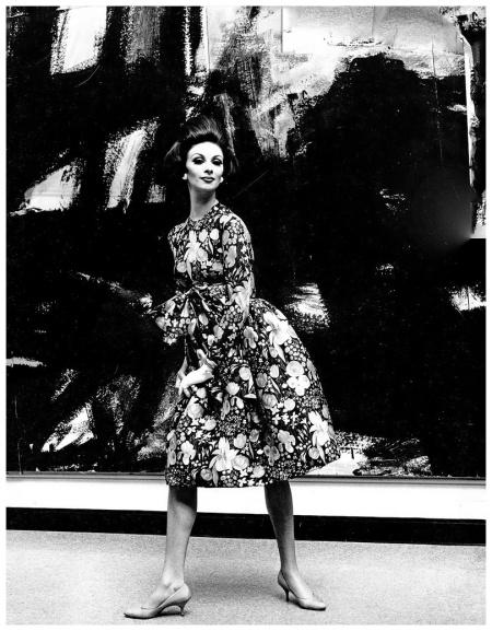 Wilhelmina Cooper 1960 Photo by Kenneth Heilbro
