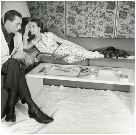 Anne Gunning Parker, Photo Horst P. Horst 1954