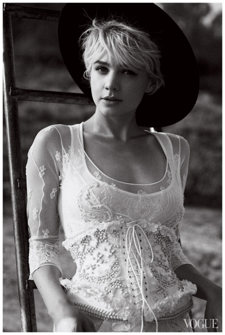 Carey Mulligan - The Talented Miss Mulligan - Vogue Photo Peter Lindbergh, October 2010