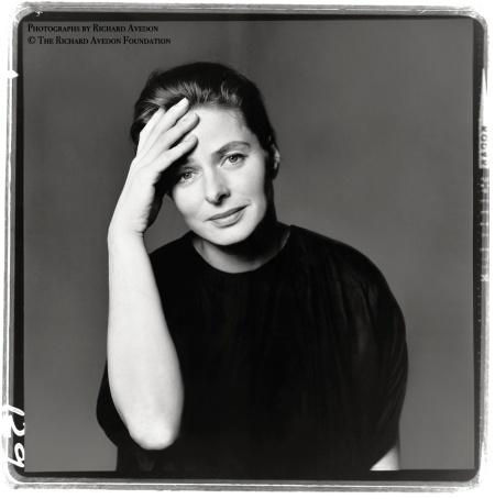 Ingrid Bergman, actor, April, 1961