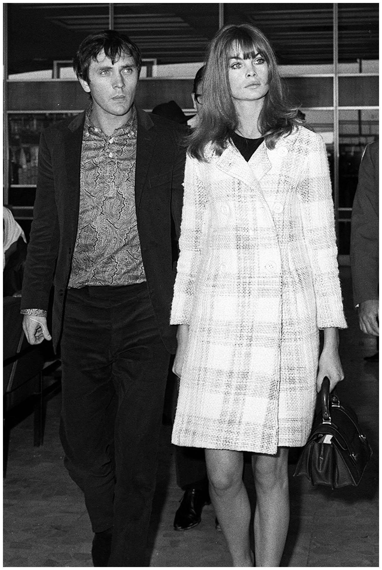 Jean Shrimpton And Terence Stamp 1965