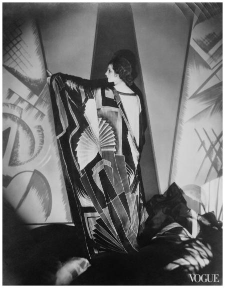 Photo Edward Steichen, Vogue, June 1, 1925 art deco