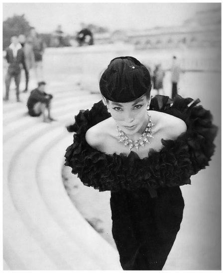 Photo Walde Huth - Lucie Daouphars 1955