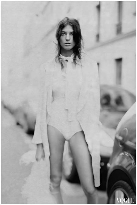 Daria Werbowy Vogue - Paolo Roversi 2007 a