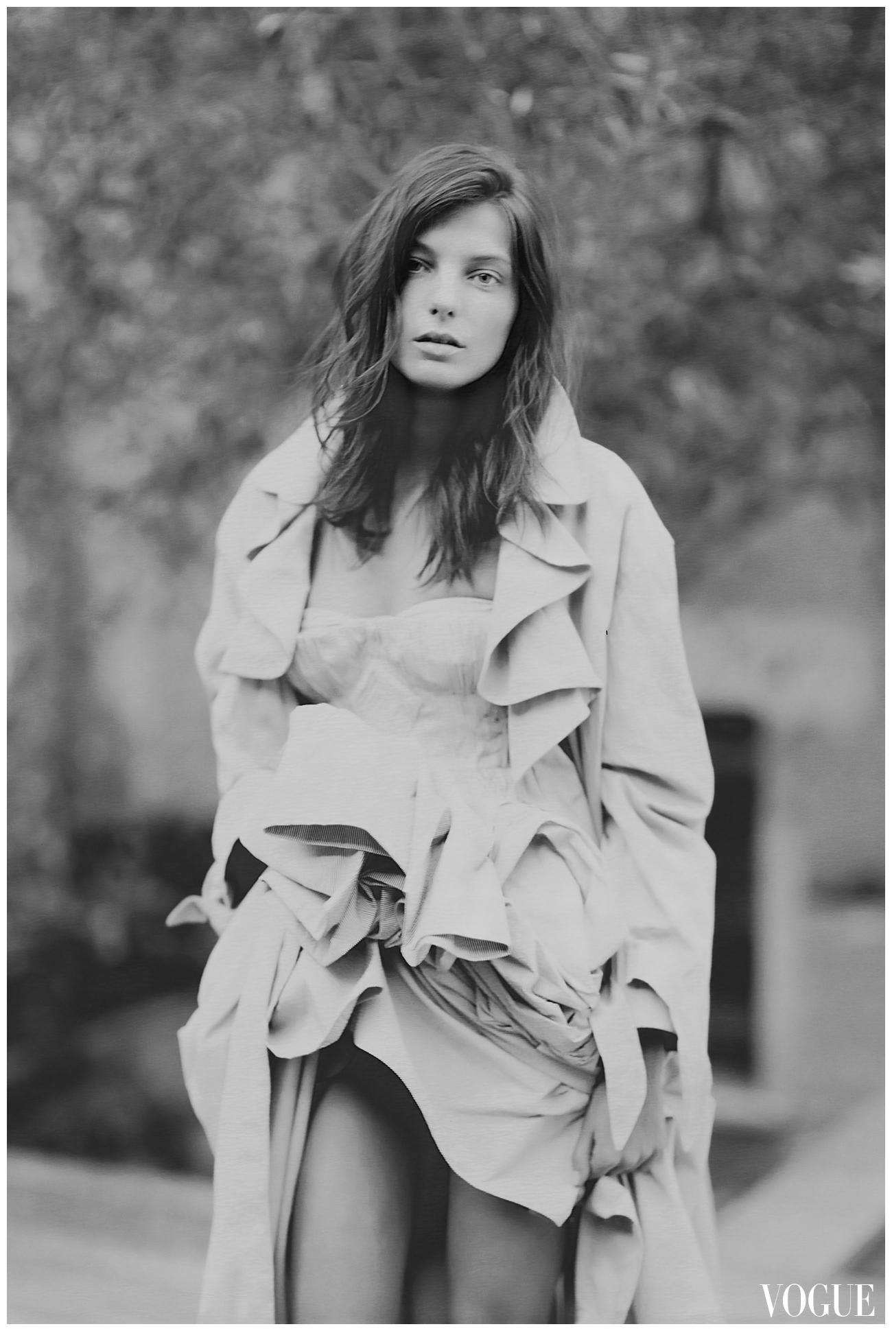 Daria Werbowy Bob Daria Werbowy Vogue Paolo