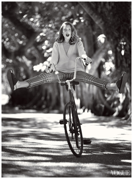 Dree Hemingway Photographed by Bruce Weber, Vogue, June 2013