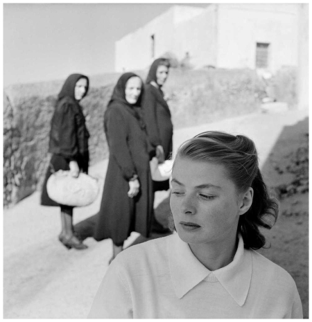 Ingrid Bergman sur l'île de Stromboli, Italie, 1949 © The Gordon Parks