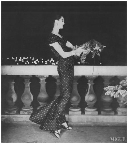 Photographed by Karen Radkai, Vogue, March 1, 1955