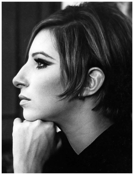 Barbra Streisand during filming of %22Funny Girl%22, photo by Pierluigi Praturlon New York, 1968