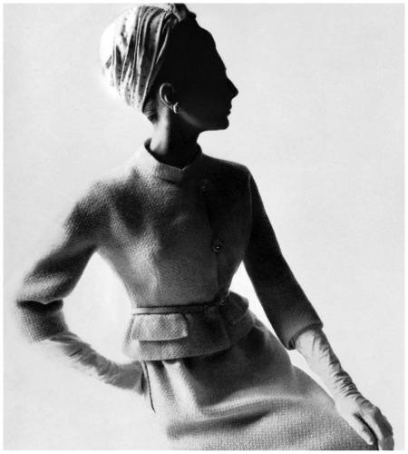 Baroness Thyssen, photographed by Bert Stern for British Vogue, 1964