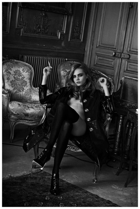 Cara Delevingne Photo Peter Lindbergh 2013a