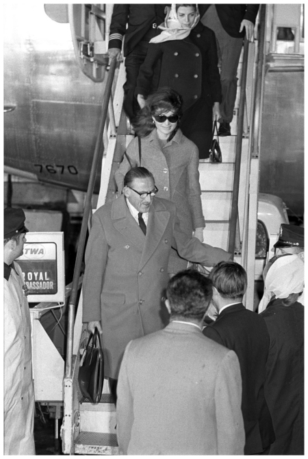 Jackie Kennedy y Christina Onassis (1968) Condè Nast Archive