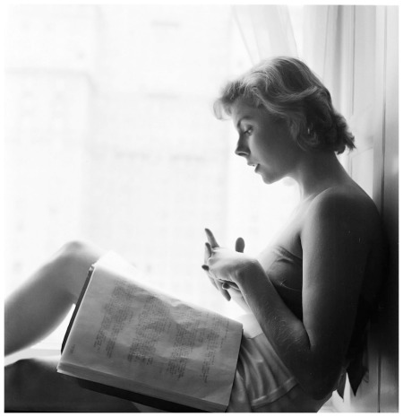 L'attrice Betsy Von Furstenberg (Stanley Kubrick nel 1949 per Look)