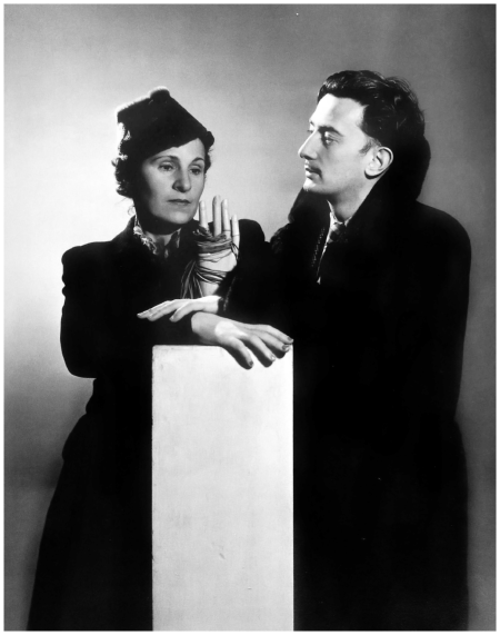 Man Ray - Salvador Dali and Gala, 1936