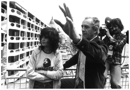 France Cannes Maria Schneider with Michelangelo Antonioni