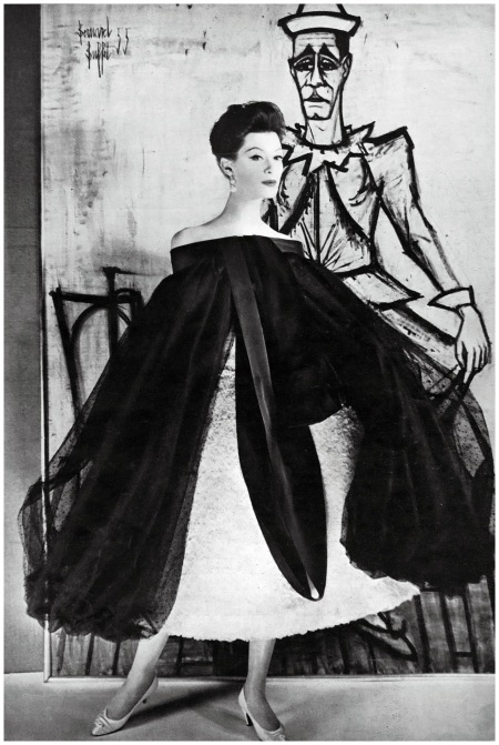 Model Wearing Givenchy Photo Henry Clarke - Vogue - Conde Publications 1964