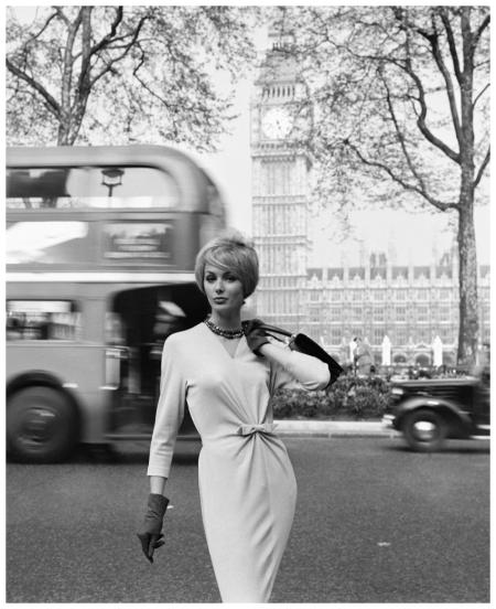 Photo Georges Dambier Lucinda Londres Big Ben Publicité 1959