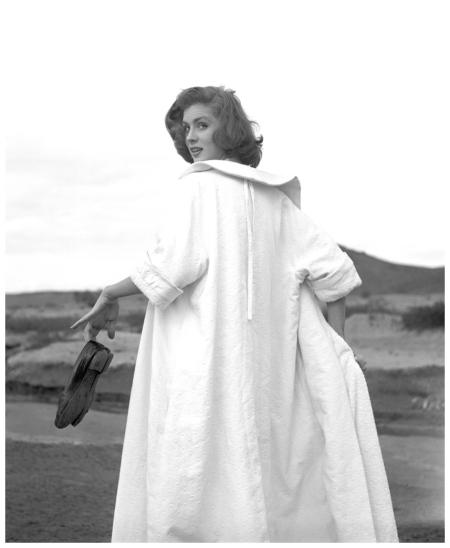 Photo Georges Dambier Suzy Parker Maroc Magazine Elle 1953