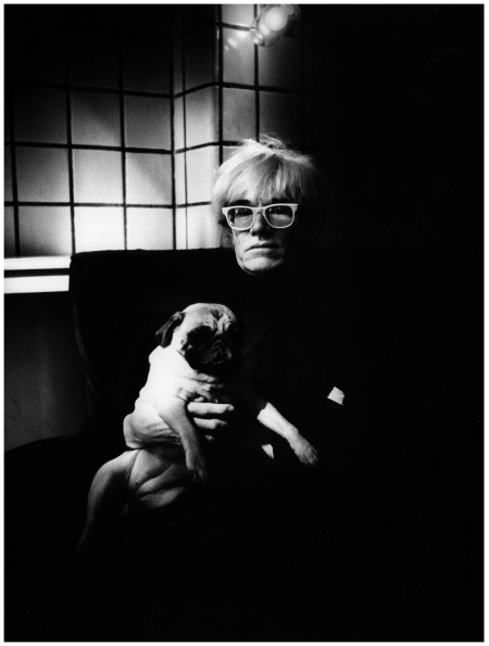 Photo Jill Courtauld Andy Warhol - Vogue