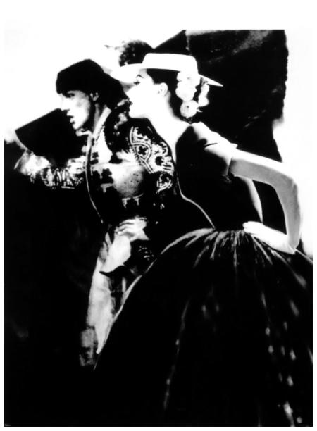 Photo Lilian Bassman Toreador, Barbara Mullen, Harper's Bazaar, c. 1950